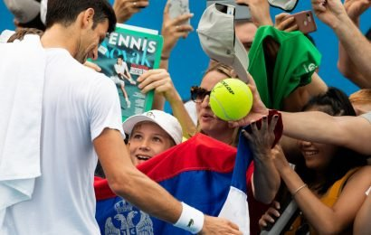 Far From Serbia, Novak Djokovic Delivers Some National Pride
