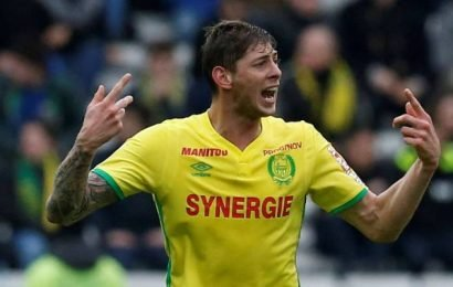 Plane carrying soccer star Emiliano Sala goes missing over English Channel: officials