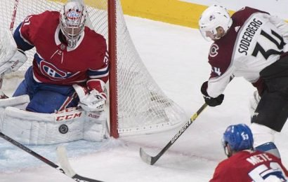 Carey Price makes 28 saves as Canadiens shutout Avalanche 3-0