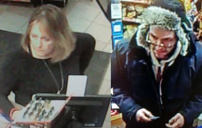 Kingston police looking for alleged credit card fraudsters
