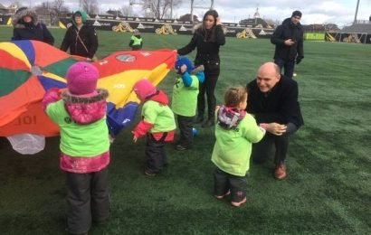 Federal minister touts child care investment during Hamilton visit