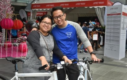 Cycling: Couple queued for 22 hours just to sign up for ST Ride at OCBC Cycle