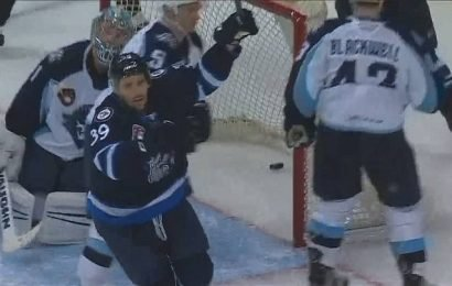 Seth Griffith scores in overtime to pace Manitoba Moose past Milwaukee Admirals