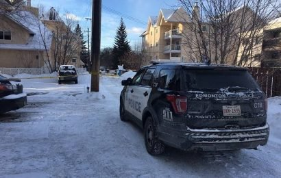 Large police presence in Edmonton's Queen Alexandra neighbourhood