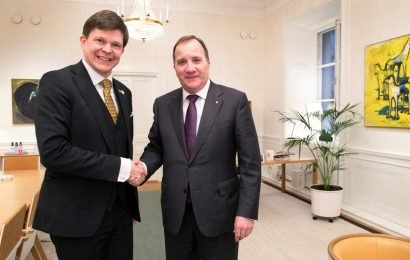 Swedish Left Party clears way for Soc Dem's Lofven to be PM again