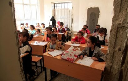 As teachers get paid, learning returns to bombed-out Yemen school