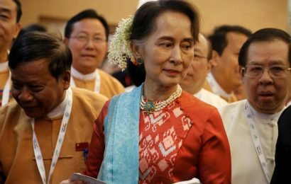 Myanmar Suu Kyi's party clashes with military over proposal to change army-drafted charter