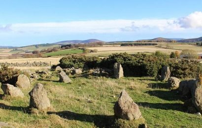 Scotland stone circle thought to be 'ancient' actually built in 1990s