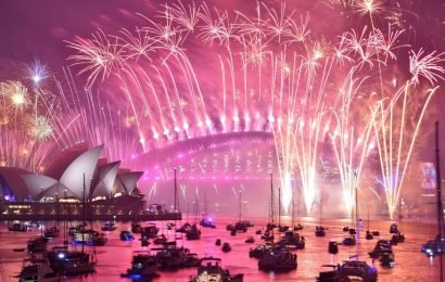 Sydney's £3.2m fireworks display marred by simple goof