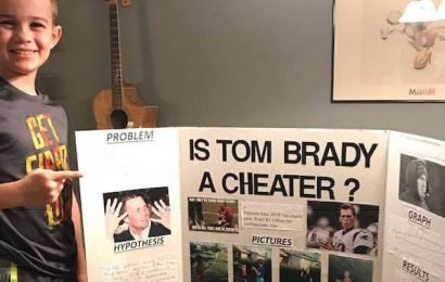 10-year-old boy wins science fair by questioning if Tom Brady is a cheater