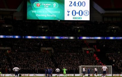 VAR Shat All Over Yesterday's Tottenham-Chelsea League Cup Match