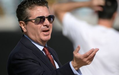 Dan Snyder Reportedly Dumped A Marketing Campaign Because He Saw Nazi Connotations