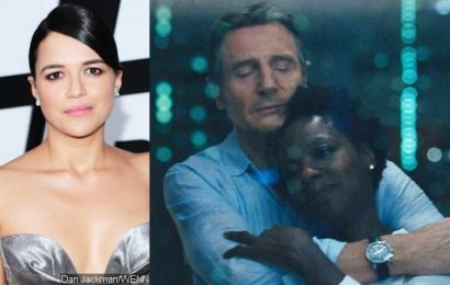 Michelle Rodriguez: Liam Neeson and Viola Davis' Raunchy Makeout Scenes Prove He's Not Racist