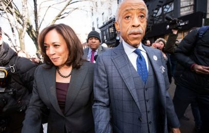 Kamala Harris ducks questions before meeting with Al Sharpton
