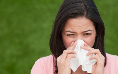 Hot February brings misery for hay fever sufferers as pollen season starts early