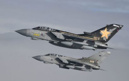 When and where you can watch RAF Tornado fighter jet's farewell tour