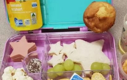 Mum quizzed by teacher after seeing the contents of her daughter's lunchbox