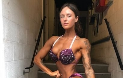 Student nurse reveals how she combines uni and being a champion body builder