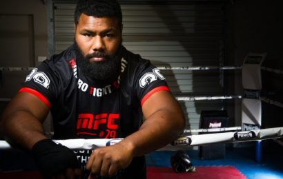 Canberra's Elijah Ngata fighting for his family