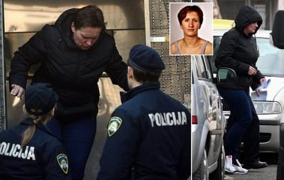 Woman accused of keeping murdered sister in freezer seen at court