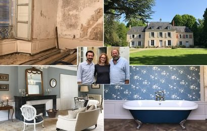Should you buy a French chateau? Dick and Angel star in new DIY show