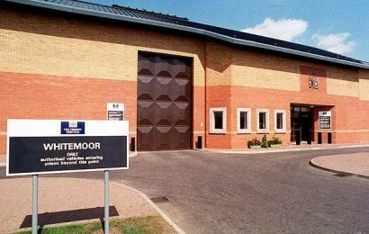 Six prison officers receive medical treatment after a riot