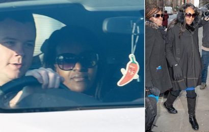 MP Fiona Onasanya is driven away from prison after serving 28 days