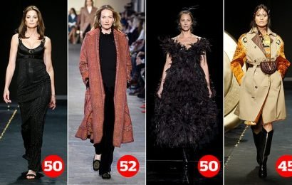 Fashion industry embraces ageing as older models take to the catwalk