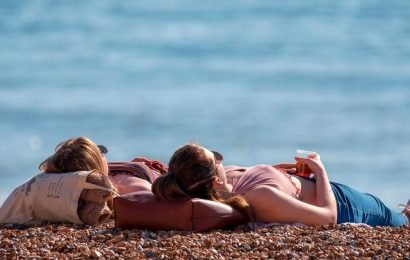 Met Office reveals you'd better make most of sunshine while you can