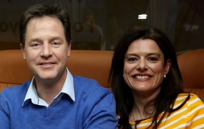 Nick Clegg's wife moans about new life after he takes £15m-a-year Facebook job