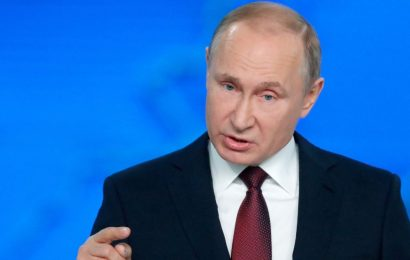 Vladimir Putin boasts hypersonic nukes can strike US in five minutes