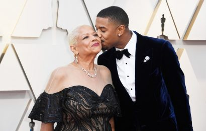 Michael B. Jordan Brought His Mom As His Oscar Date & The Photos Are Too Cute