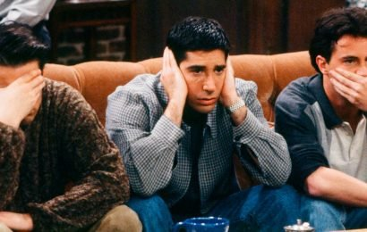 Friends almost didn't have Central Perk – and the sofa wasn't originally orange