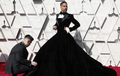 The in-your-face politics behind Billy Porter's perfect tuxedo gown