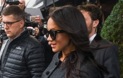 Meghan Markle Wore $70 Sunglasses To Her Baby Shower & You Can Still Buy Them