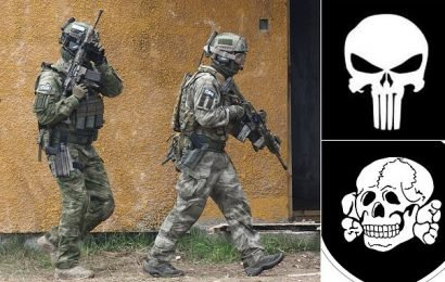 Army bosses order SAS troops to stop wearing skull badges on uniforms