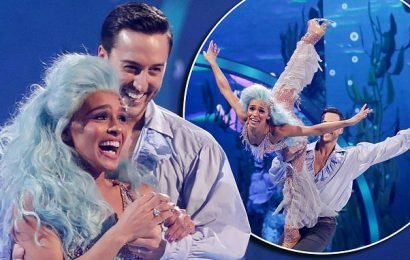 Dancing On Ice: Melody Thornton kick starts Fairytale week