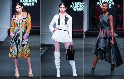 Models take to the catwalk for the world's first Vegan Fashion Week