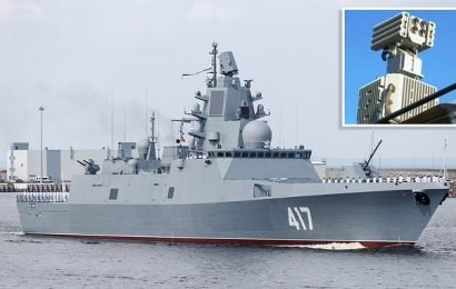 Russia 'fits ships with weapon inducing hallucinations and vomiting'