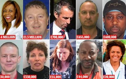 Meet the £5.5million NHS fraudsters who abused positions of trust