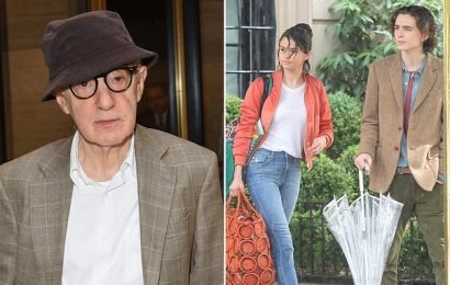 Woody Allen sues Amazon for $68M after it pulled the plug on his film