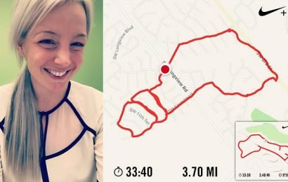 Woman creates penis-shaped routes whilst out jogging