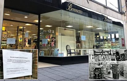 First ever department store open since 1734 in Derby in administration