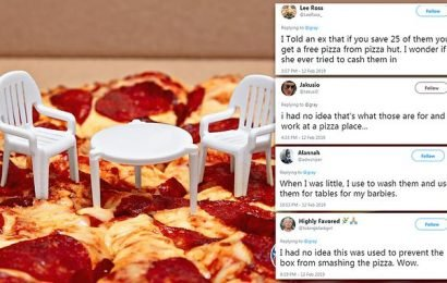 Twitter users celebrate the pizza savers 34th anniversary