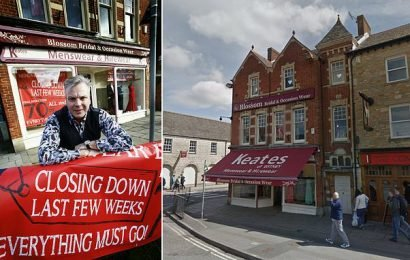 Independent clothes shop that survived two wars closes after 107 years