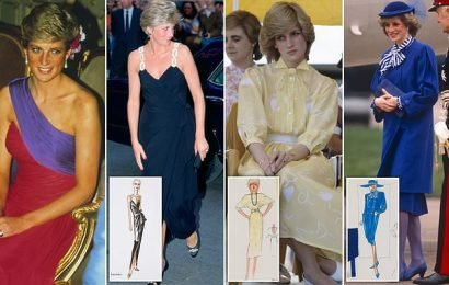 Kensington Palace set to unveil new display of Diana's evening gown