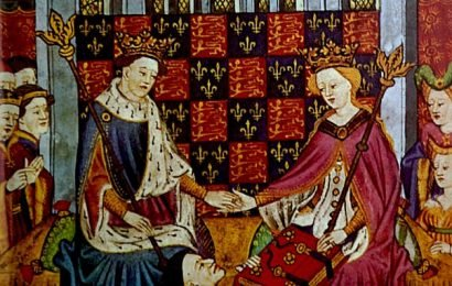 Henry VI and his wife were joined in bed by a sex coach courtier