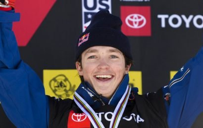 James claims record third halfpipe world title