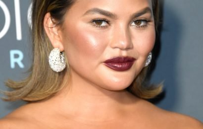 Chrissy Teigen Imitated John Legend's Super Bowl Ad, Because OF COURSE She Did