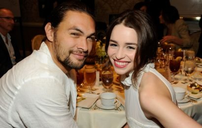 Emilia Clarke & Jason Momoa Had A 'Game Of Thrones' Reunion At The Oscars